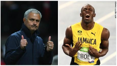 Usain Bolt has a message for Jose Mourinho ...