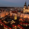 Christmas markets Prague Old town-460497210