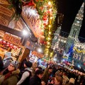 Christmas markets Vienna--499248872
