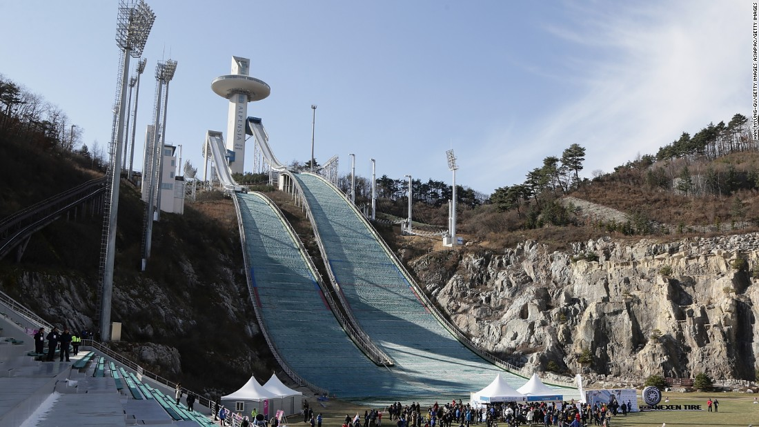 The world's best snowboarders gathered in South Korea at the weekend for the Big Air World Cup competition, with the event doubling up as a test for the Pyeongchang 2018 Winter Olympics.
