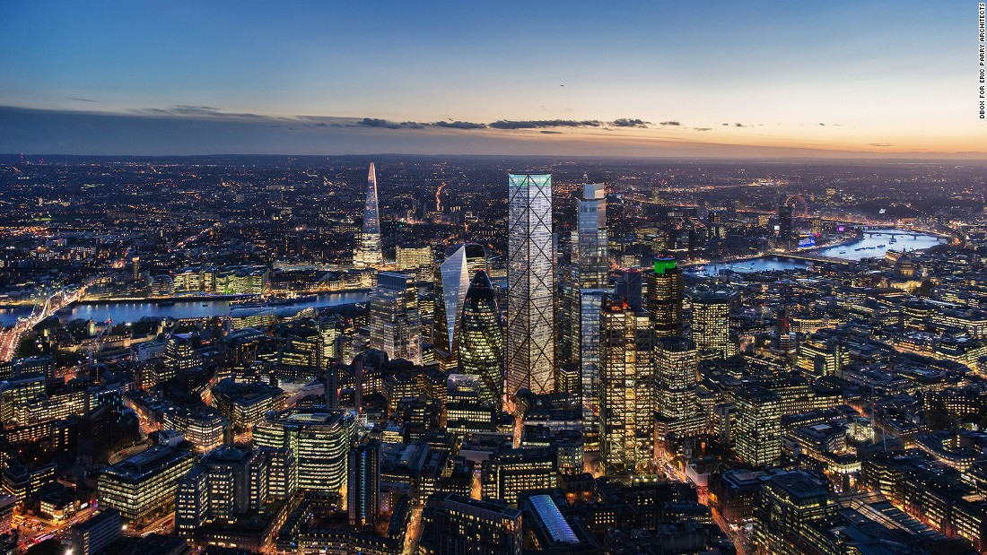 The City of London's Planning and Transport Committee has approved plans for 1 Undershaft -- what will be the City's tallest skyscraper, standing at the same elevation as Renzo Piano's Shard south of the River Thames.