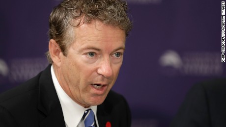 Rand Paul rallies House Republicans on deficit, could imperil Obamacare repeal