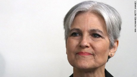 Green Party presidential nominee Jill Stein waits to be introduced prior to a press conference at the National Press Club August 23, 2016 in Washington, DC.