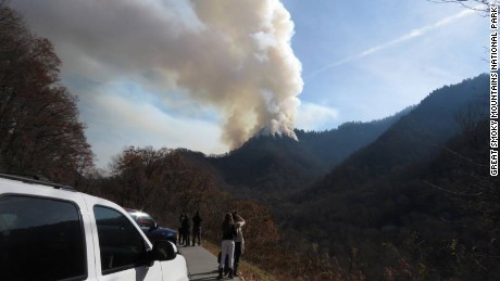 Wildfires scorch the Southeast