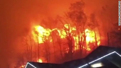 Gatlinburg fire victims: Houses destroyed, relatives missing
