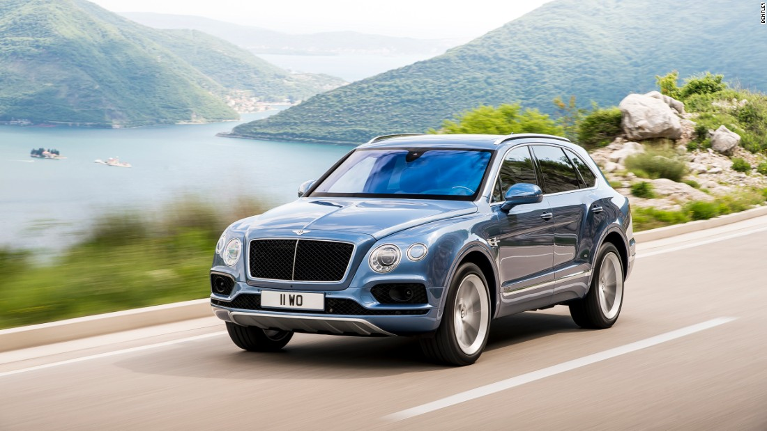 The Bentayga SUV's first edition runs to 608 vehicles and all of them are already sold.