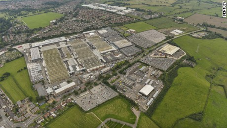 Owner Volkswagen is pumping a billion dollars into Bentley's facility in Crewe, UK