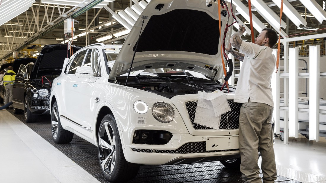 The Bentayga has become Bentley's best-selling model.