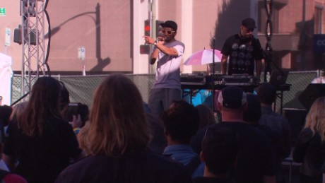 Hip-hop festival tackles human trafficking