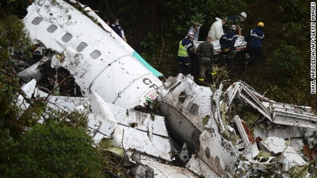 Colombia plane crash: Jet may have run out of fuel