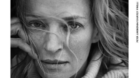 Uma Thurman was among the stars photographed by Peter Lindbergh for ...  Uma Thurman