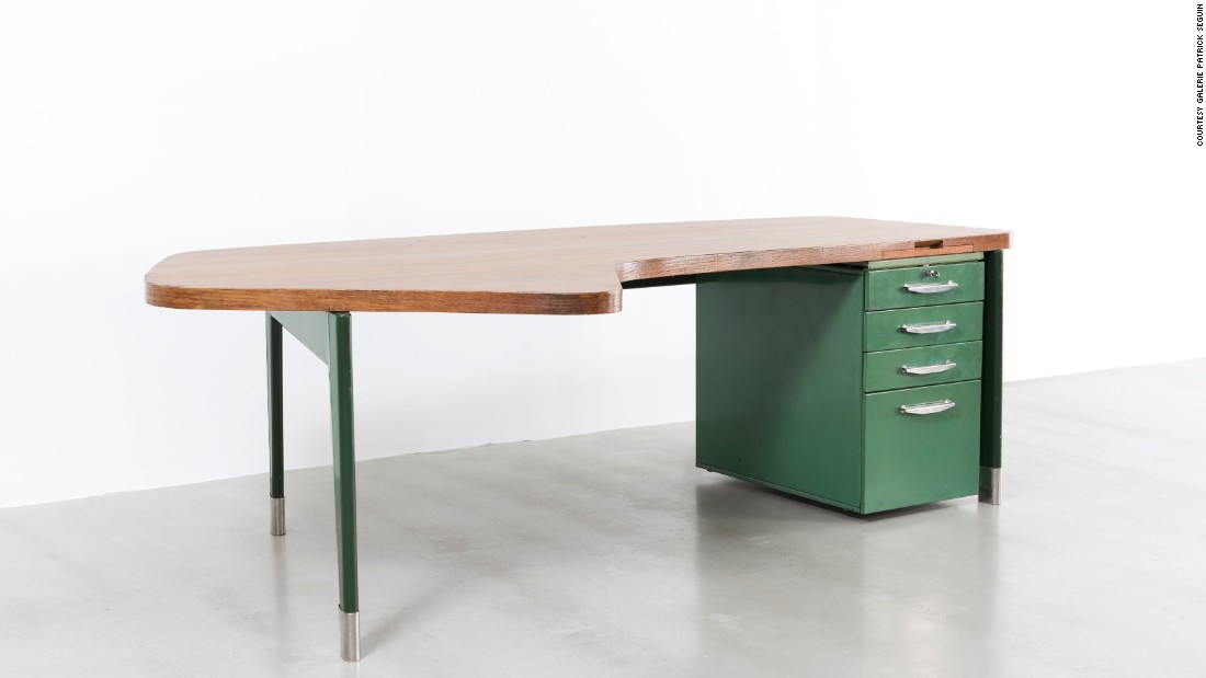 At this year's Design Miami, Galerie Patrick Seguin will showcase a rare 1955 President no 201 Desk by the iconic French designer Jean Prouvé.