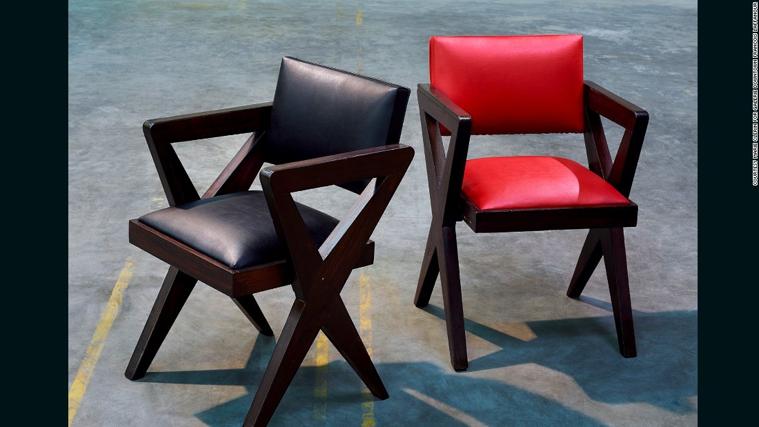 Design Miami always offers up plenty of sought-after vintage wares, and this year is no exception. These two 1960 Theatre Armchairs by legendary French designer Pierre Jeanneret are part of Galerie Downtown Francois Laffanour's display at the fair.