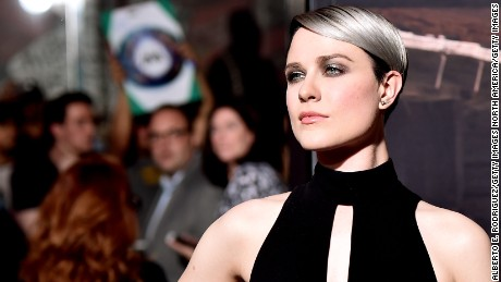 "HOLLYWOOD, CA - SEPTEMBER 28:  Actress Evan Rachel Wood attends the premiere of HBO's ""Westworld"" at TCL Chinese Theatre on September 28, 2016 in Hollywood, California.  (Photo by Alberto E. Rodriguez/Getty Images)"