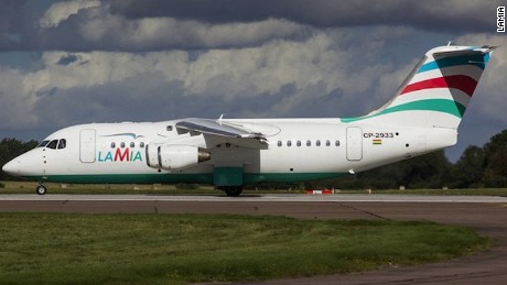 An image of the plane registered as CP2933 previously posted to the airline's Twitter account.