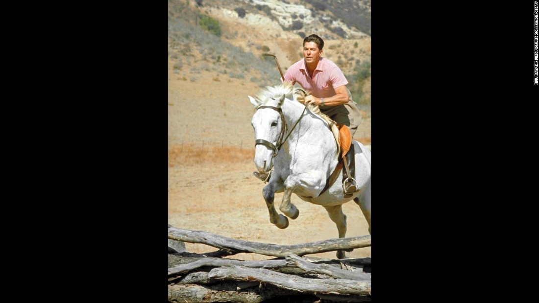 "Ronald Reagan, the 40th president, enjoyed horseback riding. He suffered minor injuries when he was <a href=""http://www.nytimes.com/1989/07/05/us/reagan-is-injured-in-fall-off-horse.html"" target=""_blank"">thrown from a horse</a> in 1989. He also had a bedroom converted into an <a href=""http://www.whitehousemuseum.org/floor2/west-bedroom.htm"" target=""_blank"">exercise room</a> in the White House."