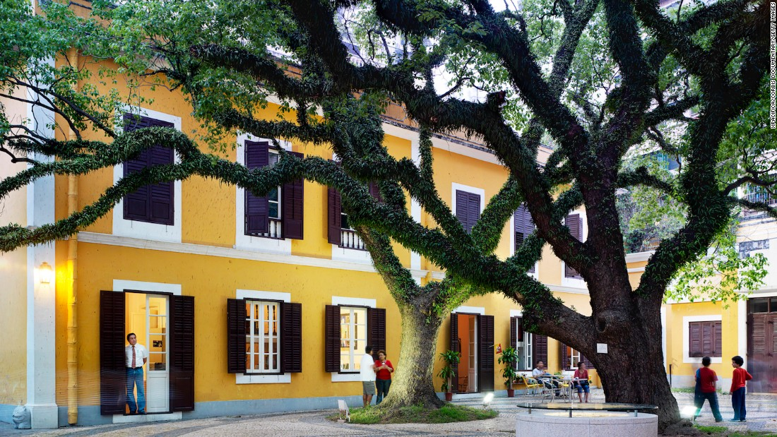 Santa Casa de Mesiricordia, a former charitable home for old women with a 400-year-history, is now a popular local gathering place.