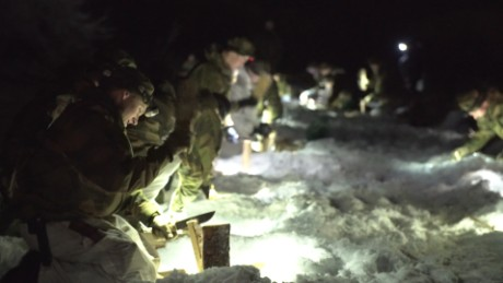 How soldiers survive in the Arctic