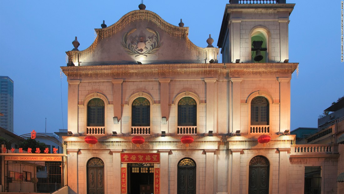 Built in the mid-1500s, Igreja de San Lazaro -- or St. Lazarus Church -- is one of Macau's oldest churches.