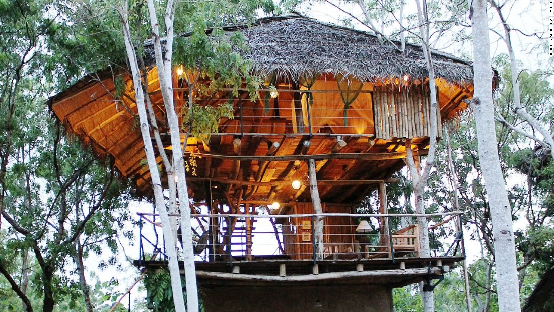 Saraai Village is an eco-tourism resort in the South of Sri Lanka built from recycled and up-cycled materials.
