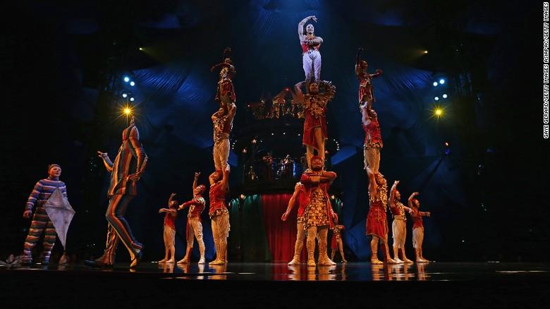 Accident kills Cirque du Soleil employee