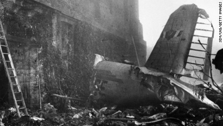 Site of the plane crash of the Torino Football Club in 1949.