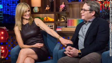 WATCH WHAT HAPPENS LIVE -- Pictured (l-r): Kyra Sedgwick and Matthew Broderick -- (Photo by: Charles Sykes/Bravo/NBCU Photo Bank via Getty Images)