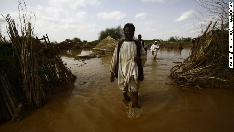 The effects of climate change in Sudan
