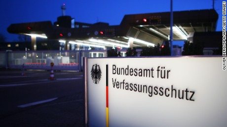 A man working at the German Federal Office for the Protection of the Constitution has been arrested.