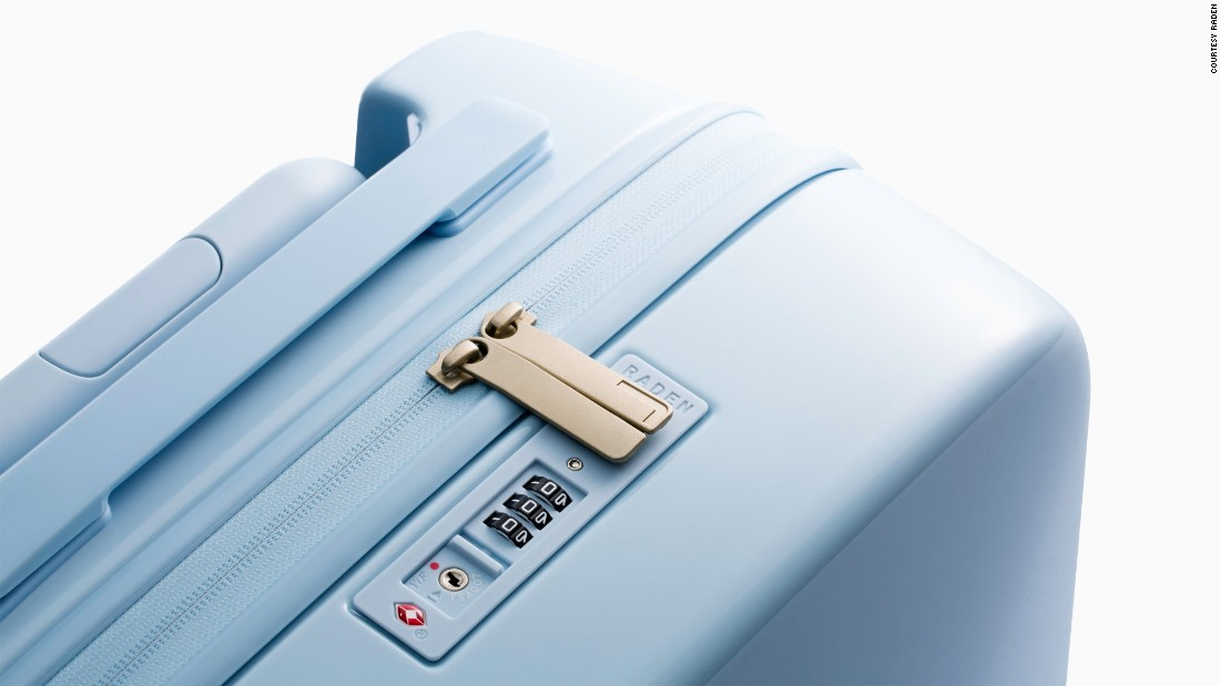 This luggage is so smart, it all but packs itself. Raden cases are equipped with a built-in rechargeable battery, luggage scale and Bluetooth tracking.