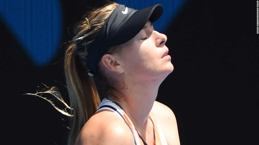 Another huge name in the sport, Maria Sharapova, makes her comeback at the end of April.