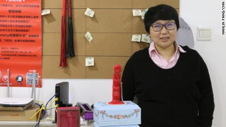 Yummy founder Jing Zhao in her office in Beijing.