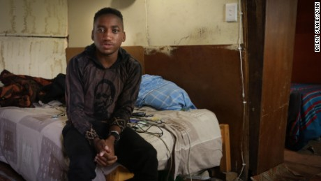"""Luyanda Ngcobo says a vaccine would """"prevent cases like mine, where a kid is born with HIV and brought into this world with an illness that is incurable."""""""