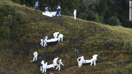 Investigation underway in Colombia plane crash