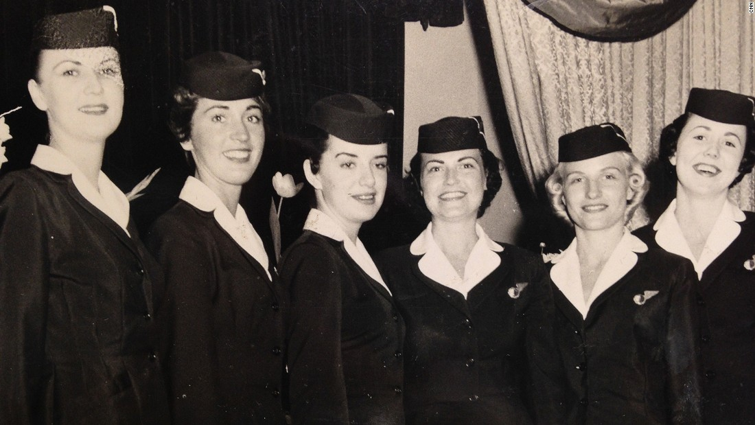 """I wanted to be a flight attendant from the time I got on the first airplane,"" says Nash. ""The pilot and the flight attendant walked across the hall and I thought 'oh my God,' and I said that was for me."""
