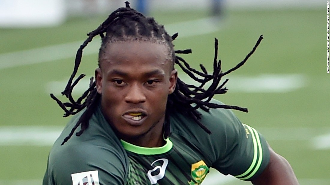 Seabelo Senatla: South Africa's running man chases new rugby dream