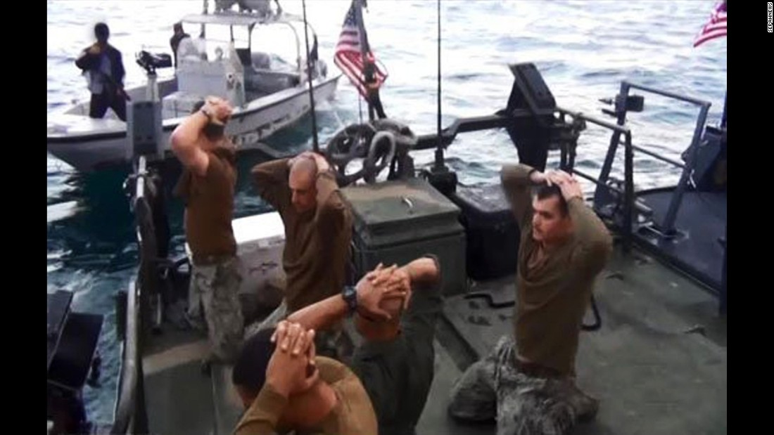 "<strong>January 12:</strong> A picture released by Sepahnews, the media arm for the Iranian Revolutionary Guard, shows the Iranian Navy capturing 10 American sailors. The sailors were <a href=""http://www.cnn.com/2016/01/12/politics/10-u-s-sailors-in-iranian-custody/"" target=""_blank"">briefly detained</a> after traveling into Iranian territorial waters. A report released in June by military investigators found that the 10 sailors <a href=""http://www.cnn.com/2016/06/30/politics/iran-navy-capture-investigation-report/"" target=""_blank"">suffered from ""failed leadership""</a> on a mission that was plagued by mistakes from beginning to end."