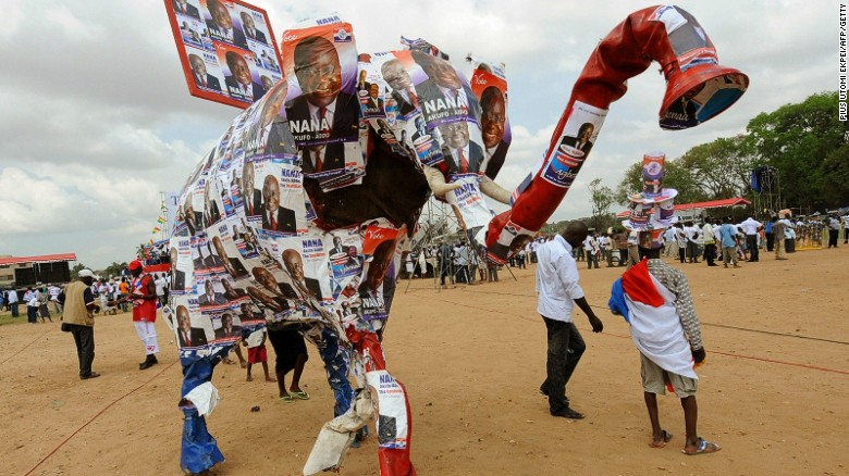 Polls have showed that Ghanaians have a more optimistic view when discussing future elections.