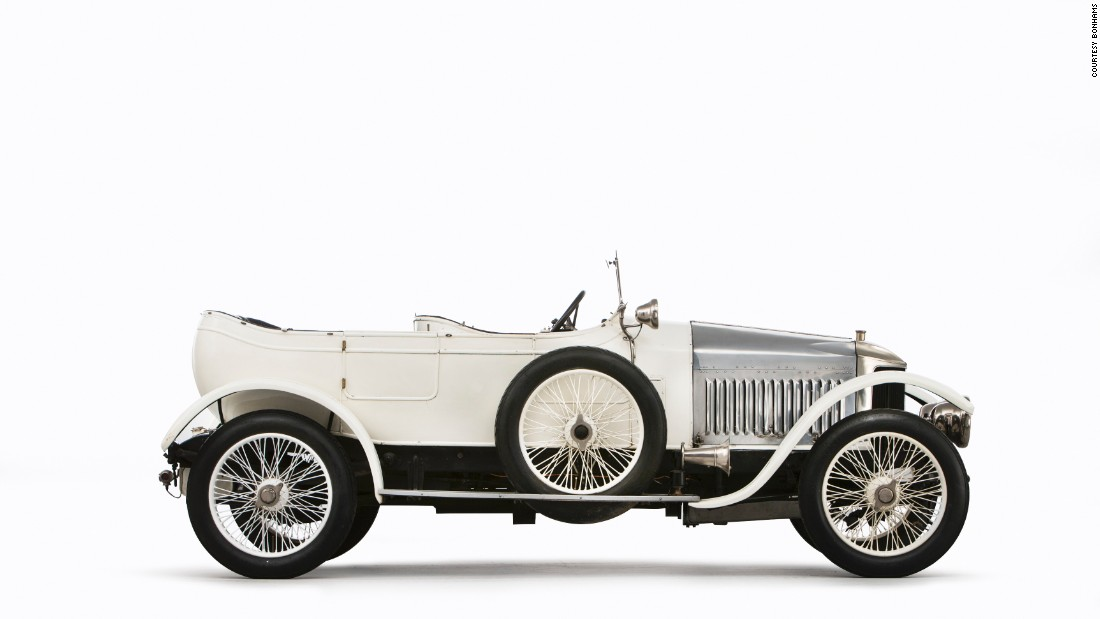 This 1914 Vauxhall 25hp 'Prince Henry' Sports Torpedo, widely recognized as the world's first true sports car, just sold for $657,185 (£516,700).