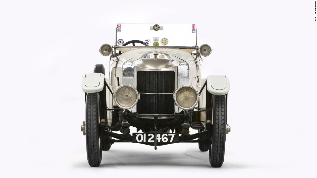 The car was auctioned by Bonhams in London on Dec. 4, 2016 as part of its Bond Street Sale.