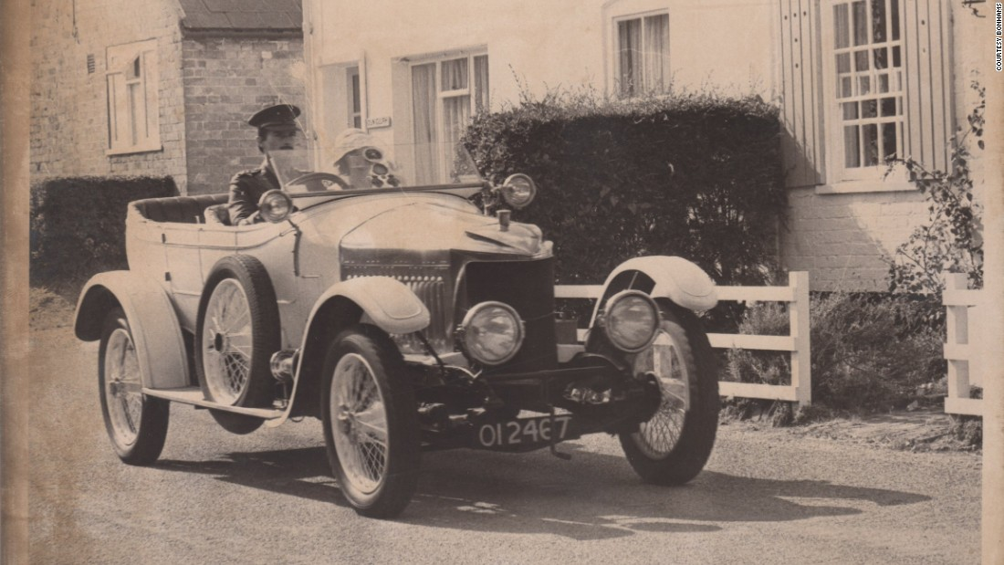 The car was designed by engineer Laurence Pomeroy and originally purchased by T.W. Badgery, an English businessman, in 1914.