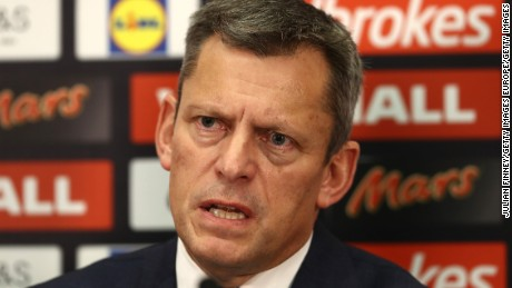 English Football Association Chief Executive Martin Glenn has promised a thorough investigation.
