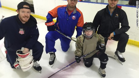 United Heroes League is a non-profit organization that helps military kids stay healthy and active.