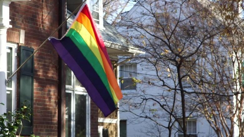rainbow flag protest Mike Pence origwx JM_00003227