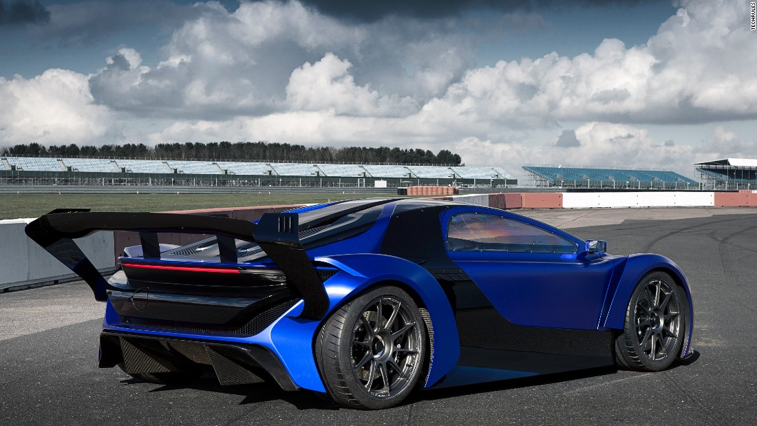 TechRules is a good example of how Chinese-backed firms are trying to break into the international EV supercar market.