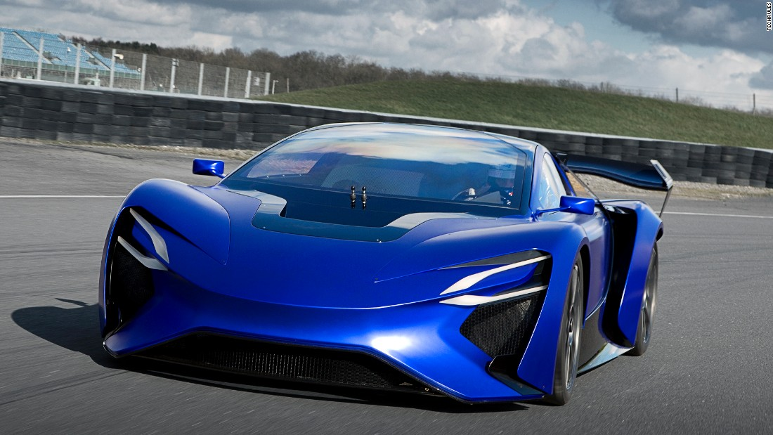 TechRules' AT96 TREV is a hybrid that can reach speeds of more than 217mph, the company claims.