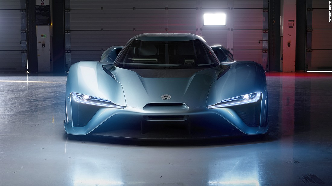 Chinese start-up NextEV has set a new electric car lap record at the Nurburgring with its NIO EP9 hypercar.