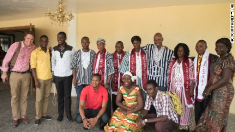 Finalists of Integrity Idol Liberia 2015.