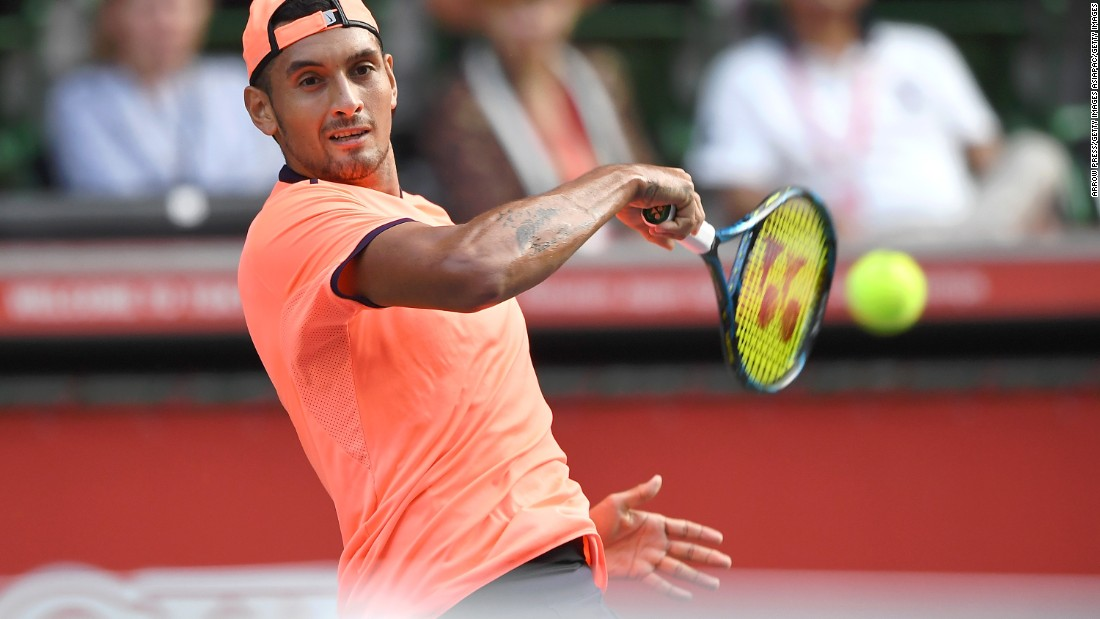 His professionalism has been questioned by many but former world No. 1 Pat Rafter reckons his fellow Australian Nick Kyrgios has what it takes to reach the top of the world rankings.