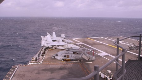CNN lands aboard U.S. aircraft carrier readying for ISIS fight origwx allee_00002619.jpg